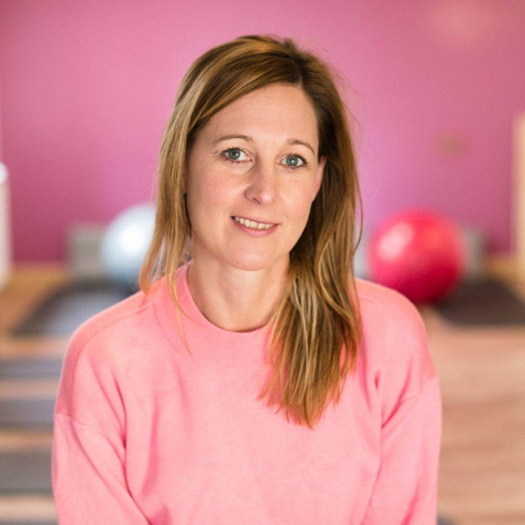 Fit und Step Kursleiterin Katja Ohnsmann